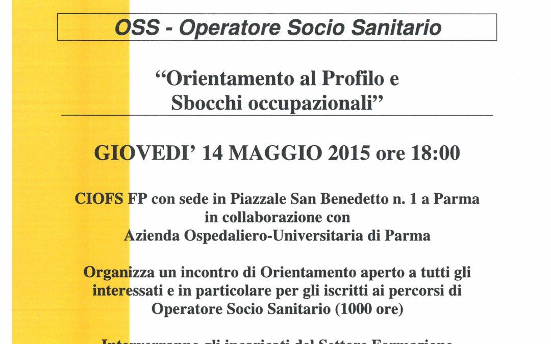 O.S.S. :Orientamento al Profilo e Sbocchi occupazionali