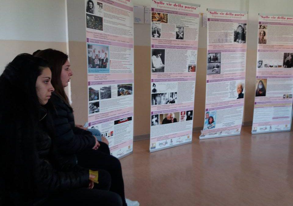 SULLE VIE DELLA PARITA'…MOSTRA DI TOPONOMASTICA FEMMINILE