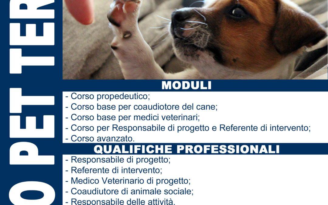 Corso Propedeutico PER GLI INTERVENTI ASSISTITI CON GLI ANIMALI (IAA)