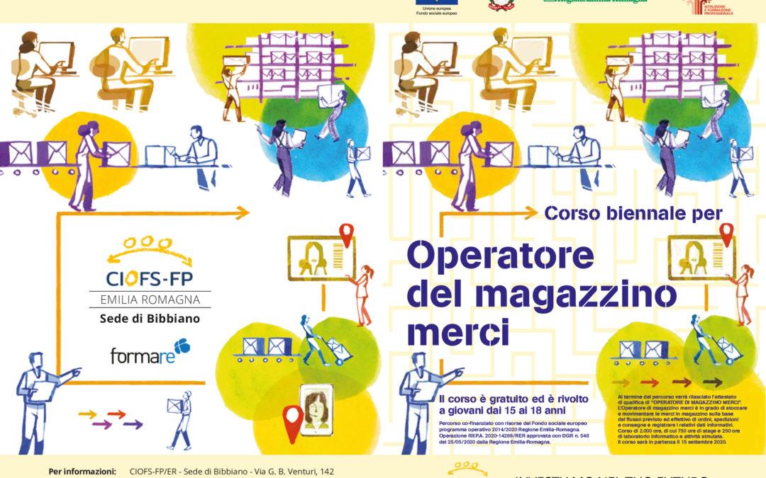 OPERATORE DI MAGAZZINO MERCI – IEFP 2021-2023