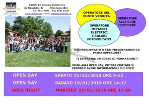OPEN DAY CIOFS IMOLA