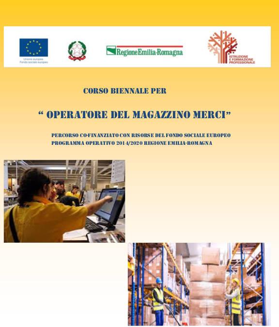OPERATORE MAGAZZINO MERCI – IeFP 2020/22