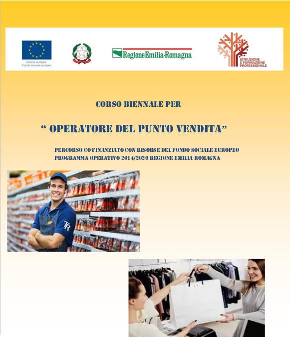 OPERATORE DEL PUNTO VENDITA – IeFP 2020/22
