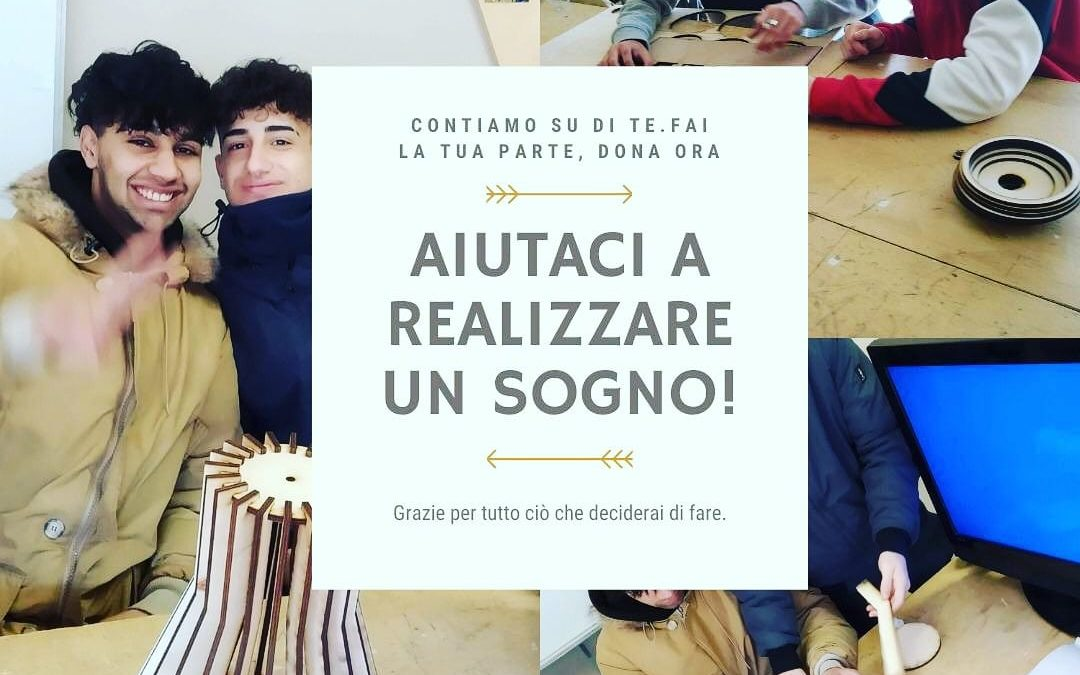 Campagna di crowdfunding per il CIOFS-LAB: un laboratorio digitale per elettro-makers