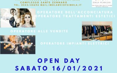 OPEN DAY VIRTUALI AL CIOFS IMOLA